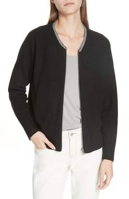 Eileen Fisher Reversible Organic Cotton Cardigan