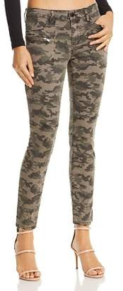 Blank NYC BLANKNYC High-Rise Camo Skinny Jeans in Squadron - 100% Exclusive