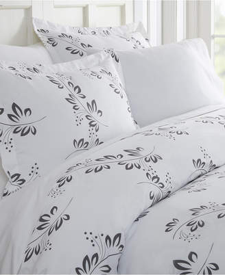 Tranquil Sleep Patterned Duvet Cover Set by The Home Collection, King/Cal King Bedding