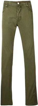 Jacob Cohen high rise slim jeans