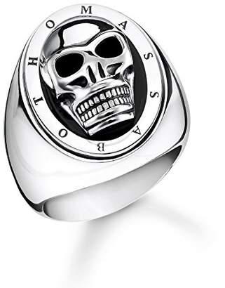 aa1019e736e0 Thomas Sabo Unisex Ring Skull 925 Sterling Silver