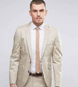 Selected Slim Cotton Stretch Suit Jacket