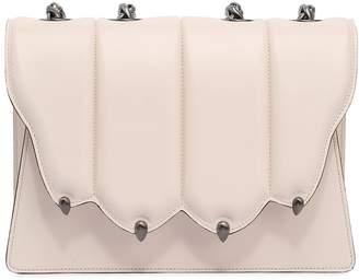 Marco De Vincenzo Large Griffe Leather Shoulder Bag
