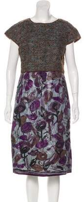 Philosophy di Alberta Ferretti Sleeveless Sheath Dress