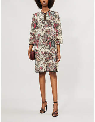 Etro Paisley-print wool dress