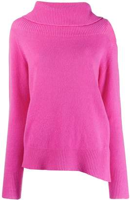 Pinko cut out roll neck jumper