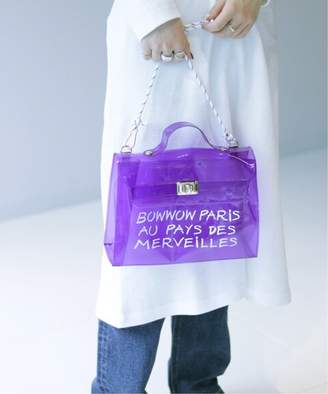 JOINT WORKS 《予約》BOWWOW clearbag