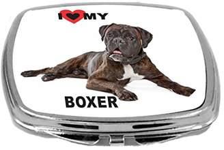 Rikki Knight Dog Design Compact Mirror