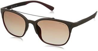 Police Sunglasses SPL161 Game 5 Wayfarer Polarized Sunglasses
