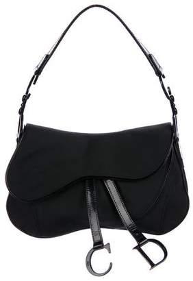 Christian Dior Double Saddle Shoulder Bag