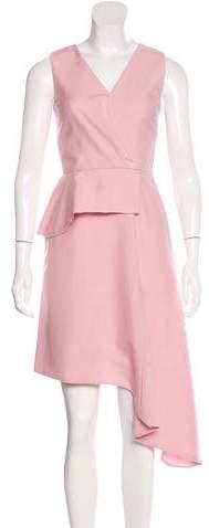 Christian Dior Mohair & Wool-Blend Dress