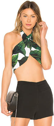 MILLY Cady Halter Top