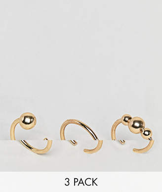 Pieces 3 Pack Ring Set