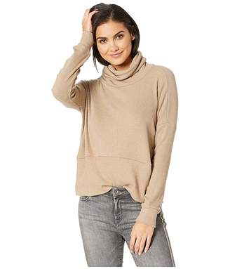 LnA Boxy Slub Sweater Turtleneck