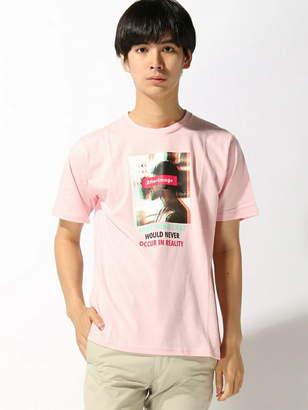 WEGO (ウィゴー) - BROWNY BROWNY/(M)ロゴボックスフォトロゴTシャツ ウィゴー カットソー