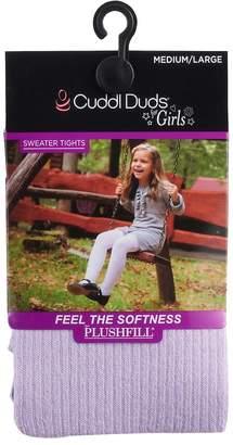 Cuddl Duds Girls 7-16 Twist Ribbed Tights