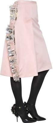 Rochas Embellished Techno Duchesse Skirt