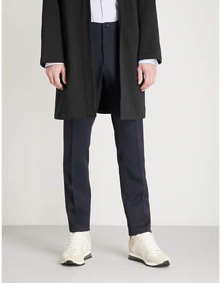 Camoshita Regular-fit tapered wool trousers