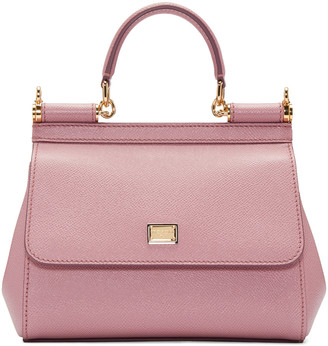 Dolce & Gabbana Pink Small Miss Sicily Bag $1,395 thestylecure.com