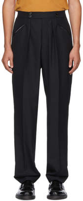 MACKINTOSH 0003 Black Wool Tailored Trousers