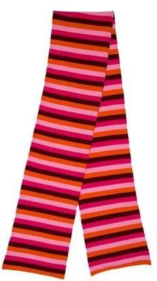 Malo Cashmere Stripe Scarf