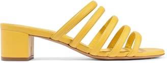 Mansur Gavriel Color-block Leather Mules