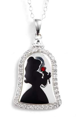 Disney Princess Belle 'Bold as a Rose' Pendant Necklace