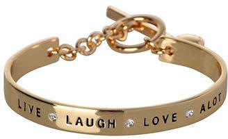 BCBGeneration Live Laugh Love A Lot Bracelet