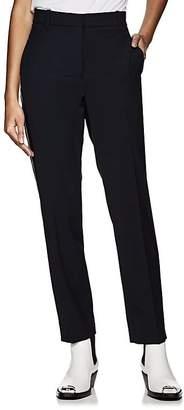 Calvin Klein Women's Side-Striped Wool Twill Ankle Pants