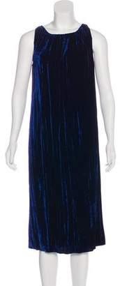 Nina Ricci Velvet Midi Dress