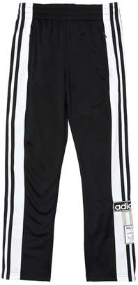 adidas Techno Track Pants W/ Side Snap Buttons