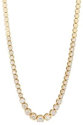 Jennifer Meyer Women's Graduated Diamond Tennis Necklace