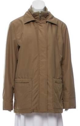 Loro Piana Fleece-Lined Zip-Up Coat