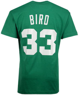 Mitchell & Ness Men's Larry Bird Boston Celtics Hardwood Classic Player T-Shirt