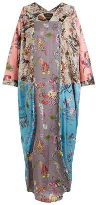 Vivienne Westwood Musa abstract-print draped dress