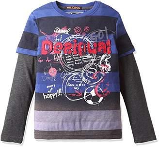Desigual (デジグアル) - (デシグアル) Desigual 重ね着風・長袖Tシャツ 67T36C7 5117 マルチカラー 5/6(120cm(116cm 5/6才))