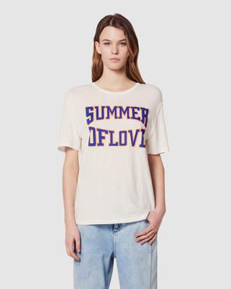 Sandro Louance Knitted T Shirt