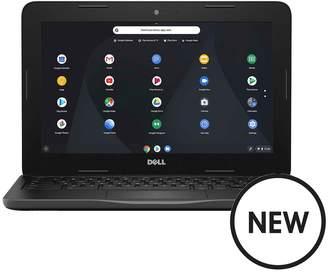 Dell Inspiron 11-3000 Series, Intel® Celeron® Processor, 4GB RAM, 16GB Storage, 11.6 Inch Chromebook - Black