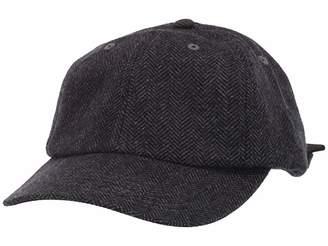 San Diego Hat Company CTH8170 Herringbone Ball Cap with Satin Tie Back