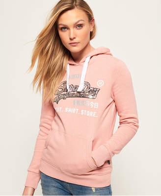 Superdry Shirt Shop Sequin Hoodie