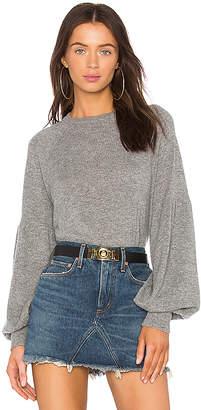 Autumn Cashmere Bishop Sleeve Sweater