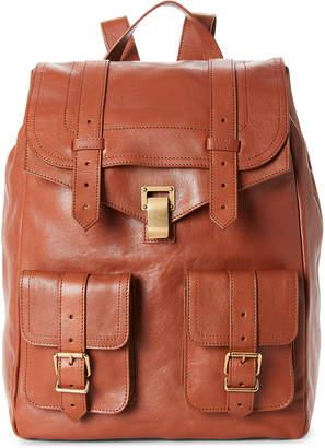 Proenza Schouler Cognac PS1 Leather Backpack