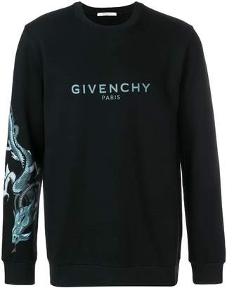 Givenchy Capricorn dragon print sweatshirt