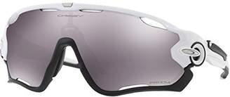 Oakley Men's Jawbreaker Non-Polarized Iridium Rectangular Sunglasses