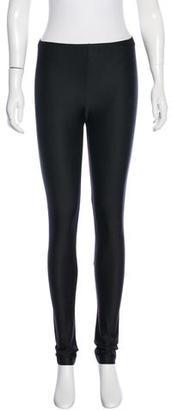 Junya Watanabe Satin Skinny Leggings $80 thestylecure.com