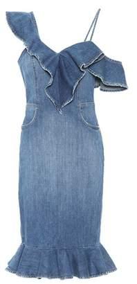 Jonathan Simkhai Stretch-cotton denim dress