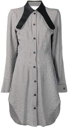 Loewe long collar shirt dress