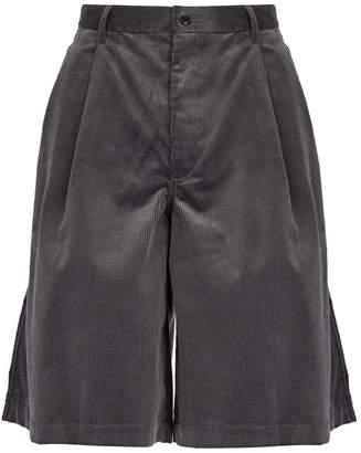 Comme des Garcons Cotton-corduroy shorts