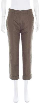 Prada 2016 Mid-Rise Pants