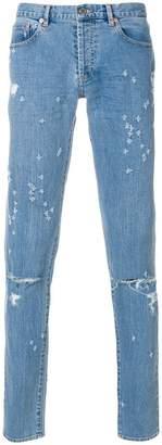 Givenchy designer logo jeans